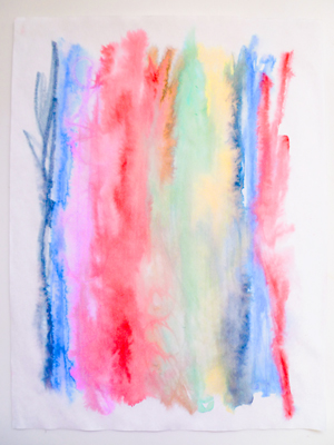 Marker wash with Morris Louis