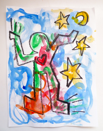 Fine Art for Kids: Expressing with Haring