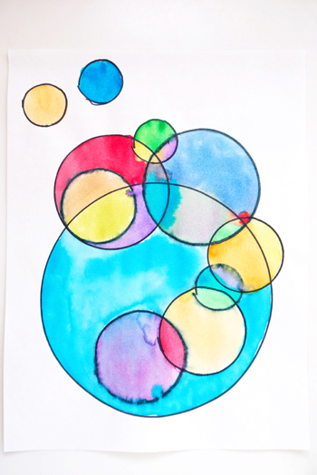 Fine Art For Kids Circling With Kandinsky Something Silly