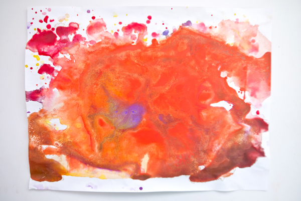 Fine Art for Kids: Color mixing with Helen Frankenthaler
