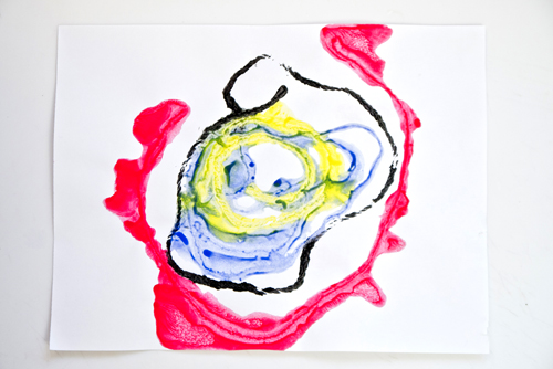 Fine art for kids: Getting messy with Kenneth Noland
