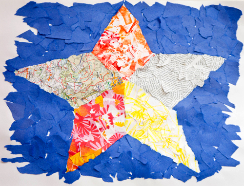 Fine art for kids: Collaging with Peter Clark