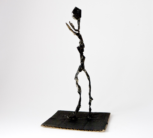 Fine art for kids: Bending with Giacometti