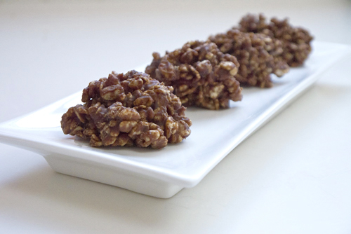 Crispy chocolate treats