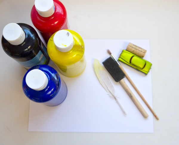 Fine art for kids: Layering with de Kooning – Something Silly