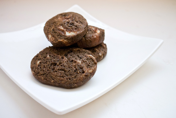 Chocolate cream cheese cookies