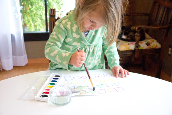 Fun and exciting left-brain art activities (that trick the right brain into participating)