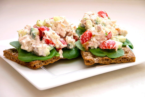 Lightened-Up Summer Chicken Salad