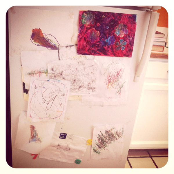 displaying your child's artwork