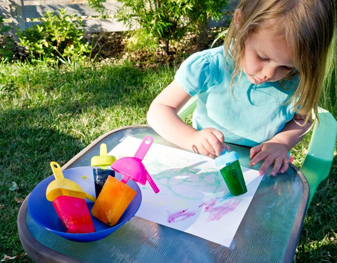 Outdoor summer art activities