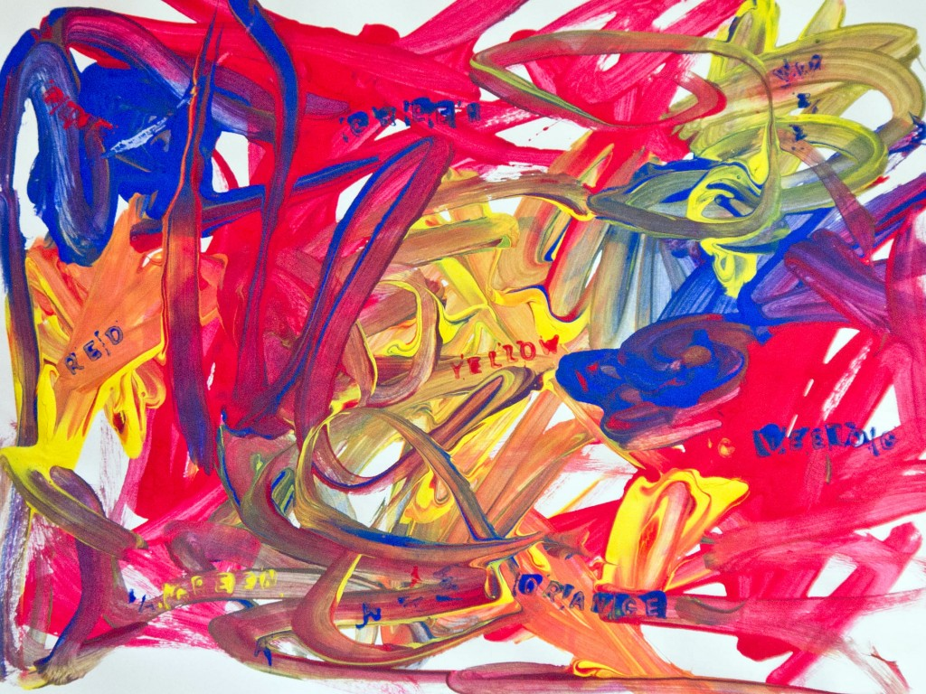 Jasper Johns art activity for kids