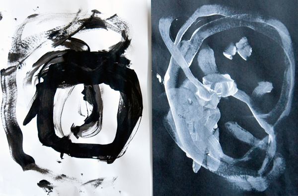 Fine art for kids: Black and white with Picasso