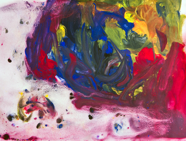 Fine art for kids: It's a wash with Sam Francis