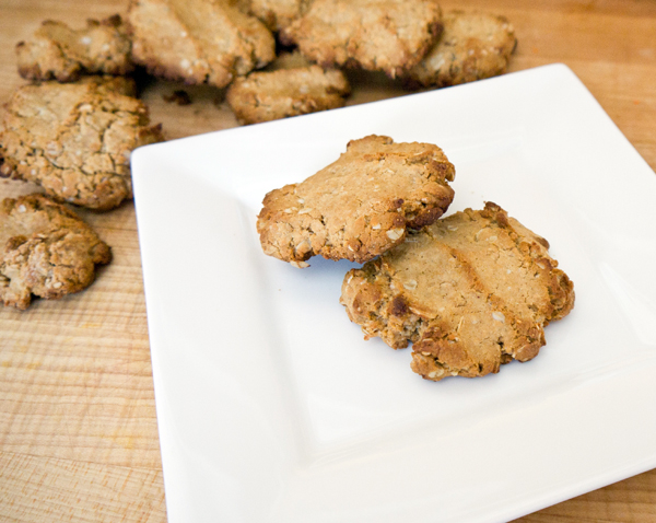 Cooking with Kids: Peanut butter oatmeal finger cookies
