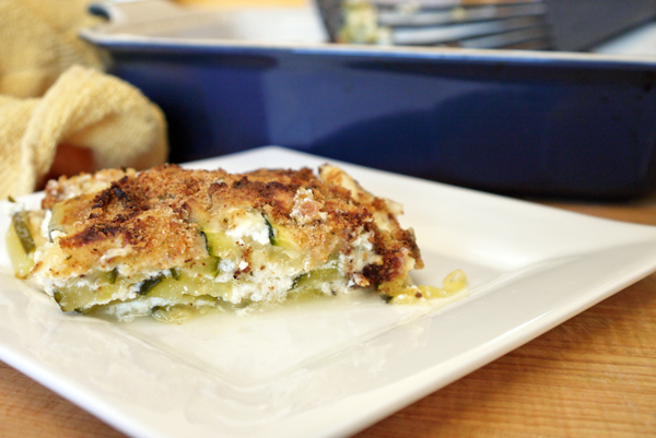 Layered Zucchini Casserole