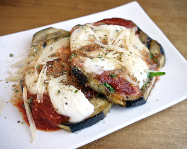 Easy Grilled Eggplant Parmesan | So says Sarah...