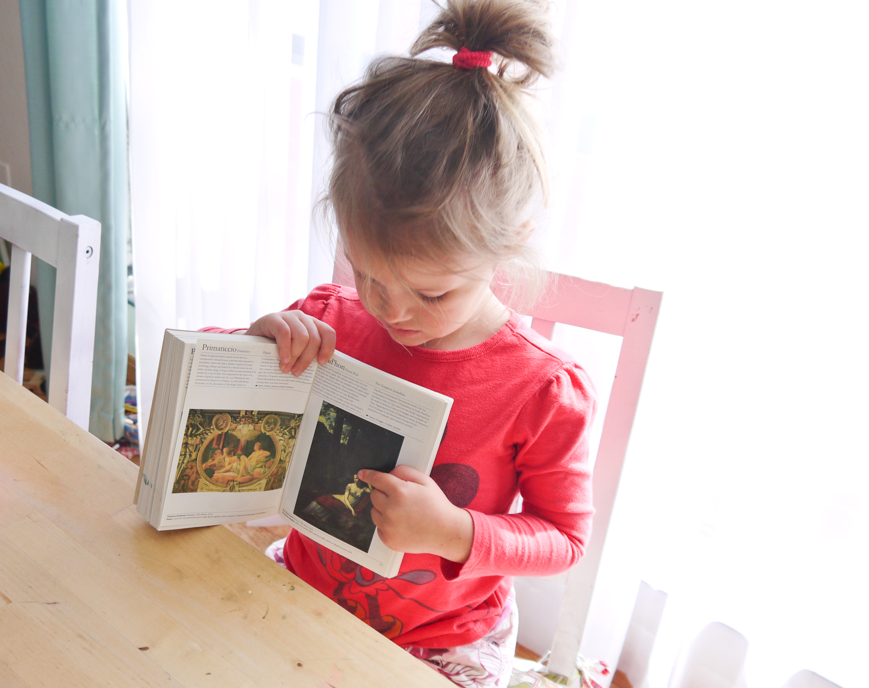 Tips for talking with your child about art
