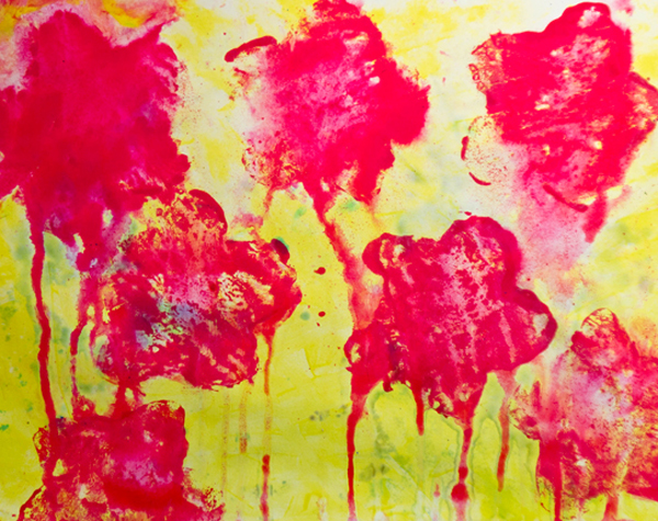 Fine art for kids: Messy with Cy Twombly